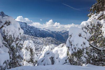 Winterlandschaft auf Mallorca